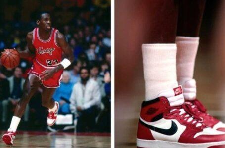 Subastan unas zapatillas que usó Michael Jordan por una cifra récord de 560.000 dólares