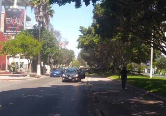 Cierran calles junto a Palacio Municipal