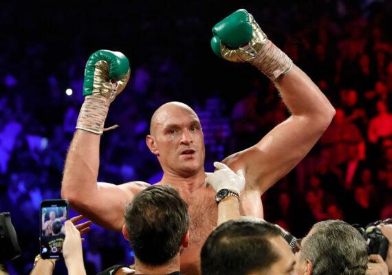 Tyson Fury es el deportista mejor pagado entre los peleadores