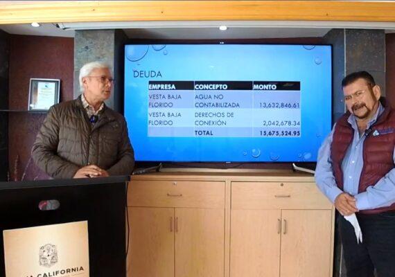 Roban empresarios agua a Tijuana por 1234 mdp's