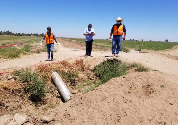Encuentran tanques de gas cloro; termina alerta