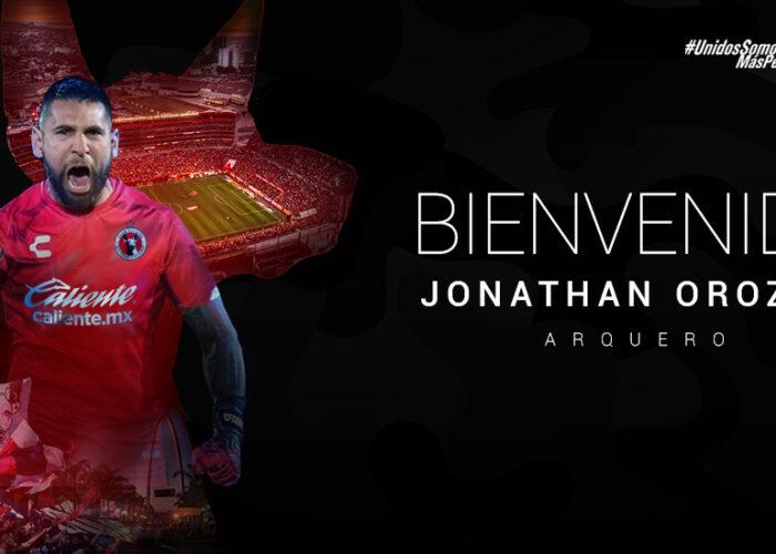 Jonathan Orozco llega a Xolos