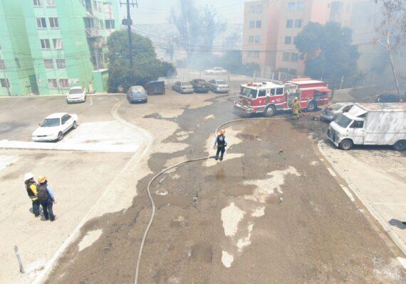 Cobran dos vidas incendios de Tijuana