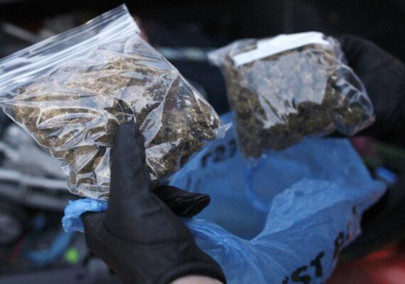 Descubren un carro fúnebre falso con 71 kilos de marihuana escondidos en ataúdes