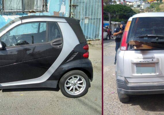 Detienen a prófugo de EU y recuperan dos vehículos en Tijuana