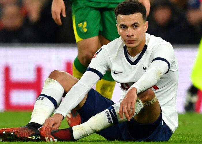 Sancionan al futbolista del Tottenham Dele Alli con un partido de suspensión por burlarse del coronavirus
