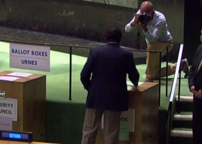 Eligen a México para el Consejo de Seguridad de la ONU