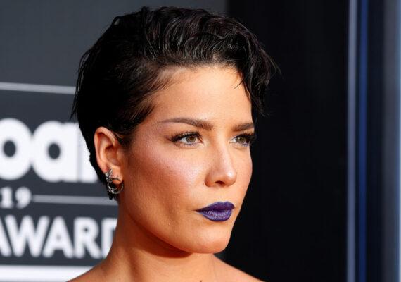 La cantante Halsey denuncia que recibió el impacto de una bala de goma durante una protesta por la muerte de George Floyd