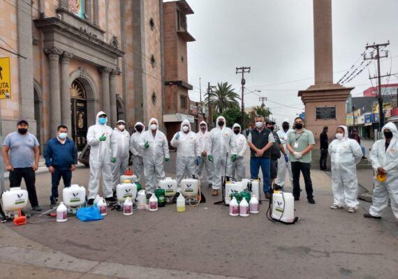 Limpian ambulantes Zona Centro