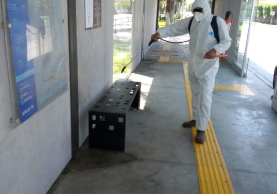 Limpian estaciones del SITT