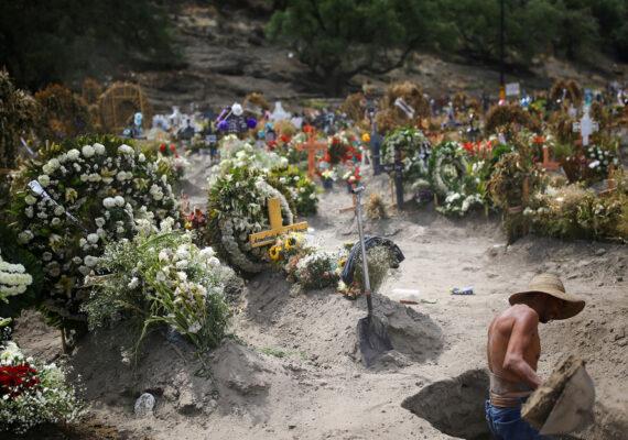 México acumula 133.974 casos confirmados de coronavirus y 15.944 víctimas fatales