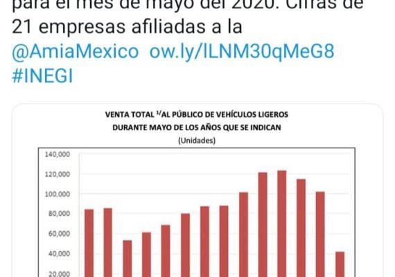 Mexicanos compran menos vehículos ligeros