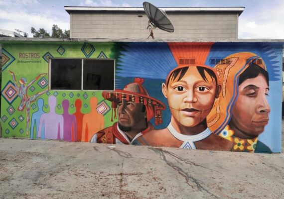 Mural en Tijuana da tributo a indoamericanos