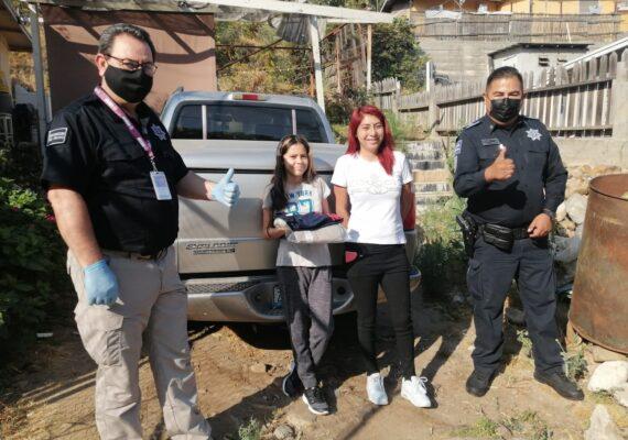 Niña tijuanense de la Policía Juvenil es premiada