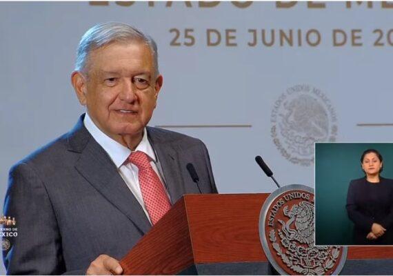 Trump ha sido solidario con México: AMLO