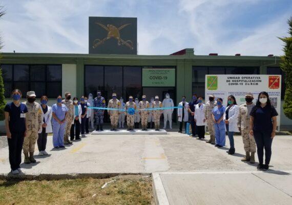 Ponen en marcha hospital militar para Covid-19 en Ensenada