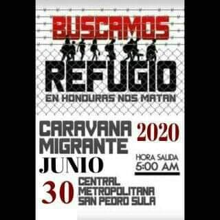 Posible nueva caravana migrante se alista para el 30 de junio