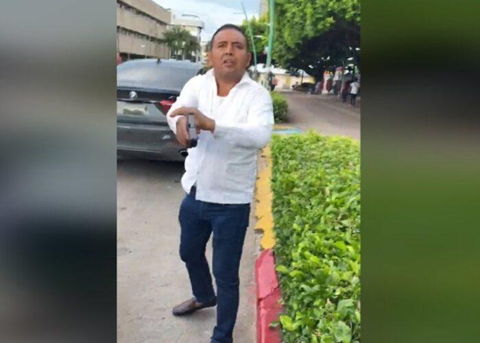 VIDEO | Dispara Escolta a expareja de la hija del gobernador de Chiapas