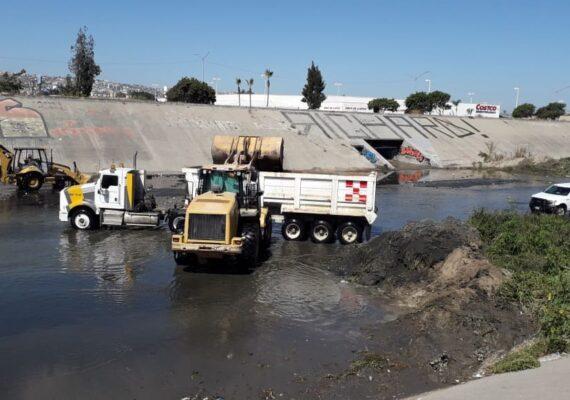 Limpio Río Tijuana en 60 días, anuncia gobierno