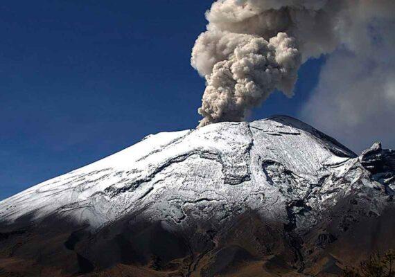 (VIDEO) Alertan de aumento de actividad del Popocatépetl