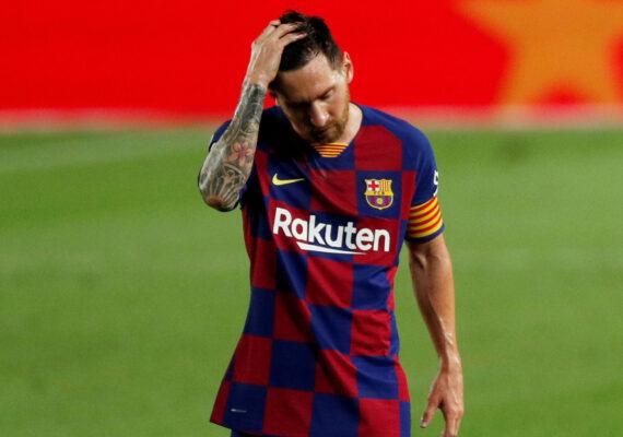 Así reaccionó Messi después de que el Real Madrid ganara su 34.º título de liga
