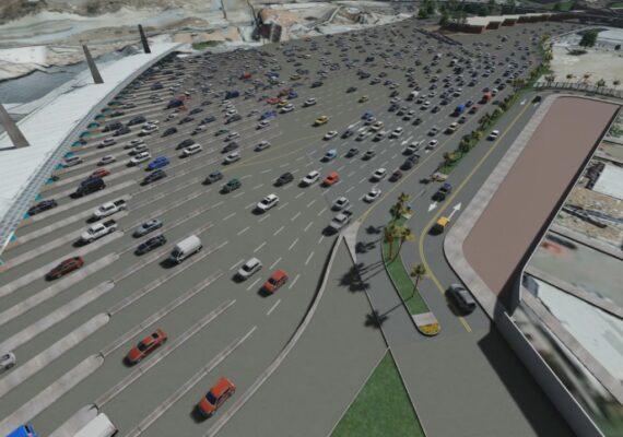 Habrá ocho carriles más en garita de San Ysidro