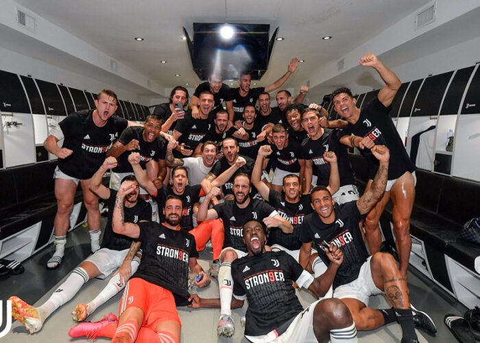 Juventus vence a la Sampdoria y consigue su noveno título consecutivo de la Serie A italiana