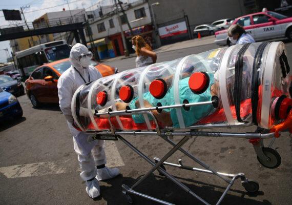 México se convierte en el quinto país con más muertes por coronavirus a nivel mundial