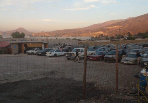 Caten terreno para recuperar vehículo robado hace dos años