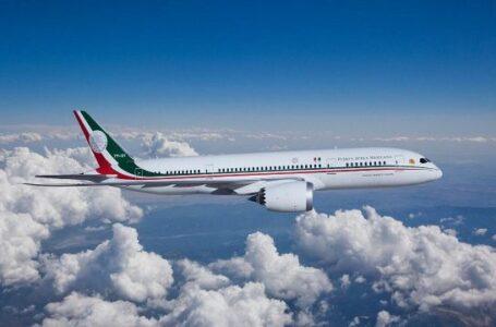 Avión presidencial regresa hoy a México