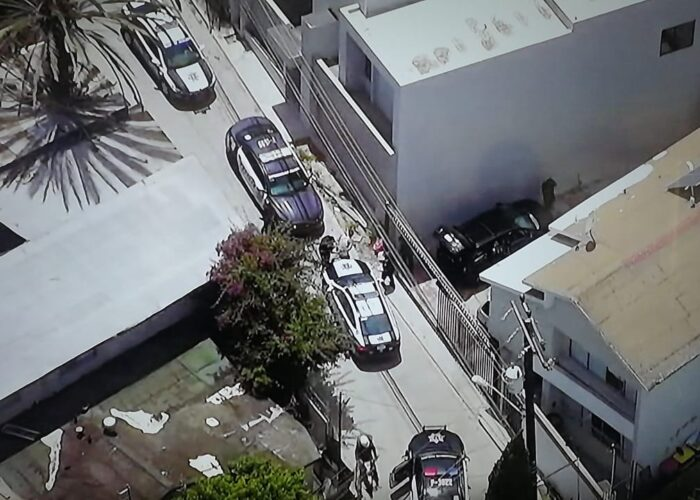 Dron persigue a criminal hasta su captura