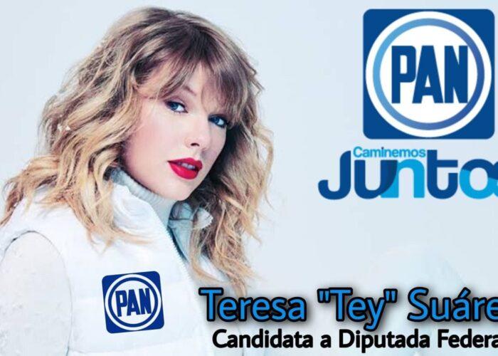 Fake News: Circuló foto fake de Taylor Swift como candidata a diputada del PAN