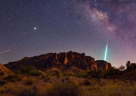 ¿Cuándo y cómo ver las lluvias de meteoros que iluminarán los cielos durante las próximas semanas?