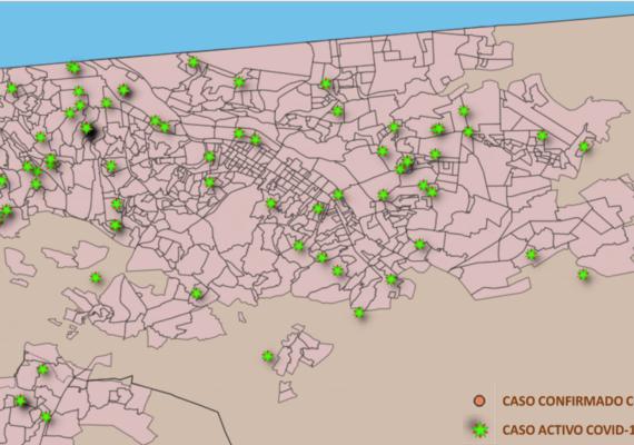 Revelan mapa del Covid-19 en Tijuana
