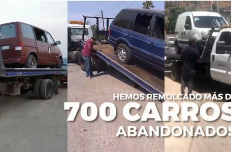 Advierte ayuntamiento de Tijuana que retirará vehículos abandonados de las calles