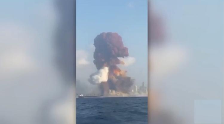 Gran explosión en Beirut genera daños masivos