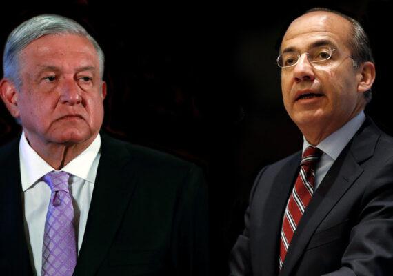 Calderón contesta a las críticas de López Obrador recordándole quién saludó a la madre del 'Chapo' (y el presidente le responde)