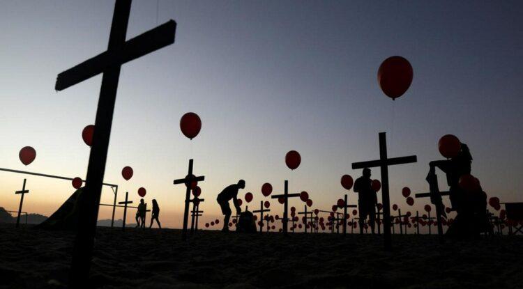 Llega Brasil al segundo lugar en muertes por Covid