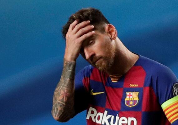 Messi buscaría salir del Barcelona este verano, un año antes de finalizar su contrato