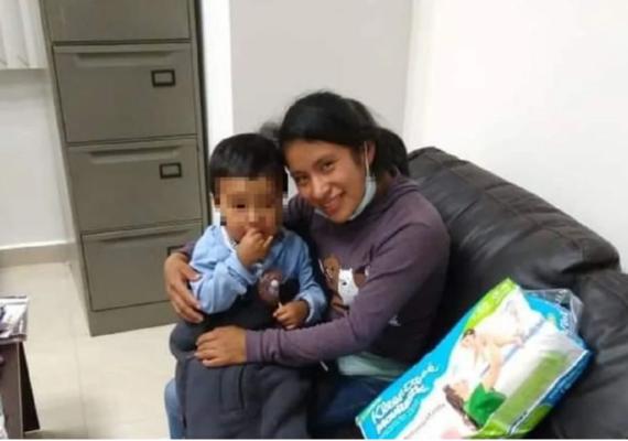 Dylan Esaú, niño perdido en Chiapas, ya fue encontrado