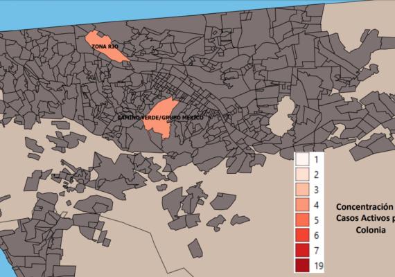 Zona Río y Camino Verde, con más casos de Covid en Tijuana