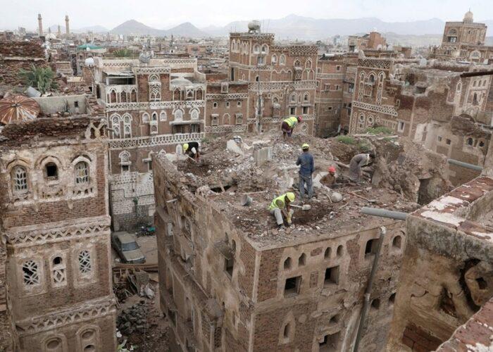 Lluvias acaban con Patrimonio de la Humanidad en Yemen