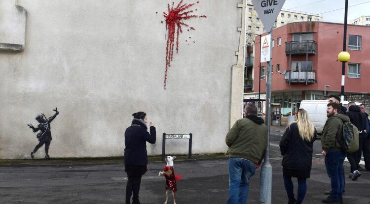 Banksy pierde una batalla legal por una de sus obras más famosas al no querer revelar su identidad