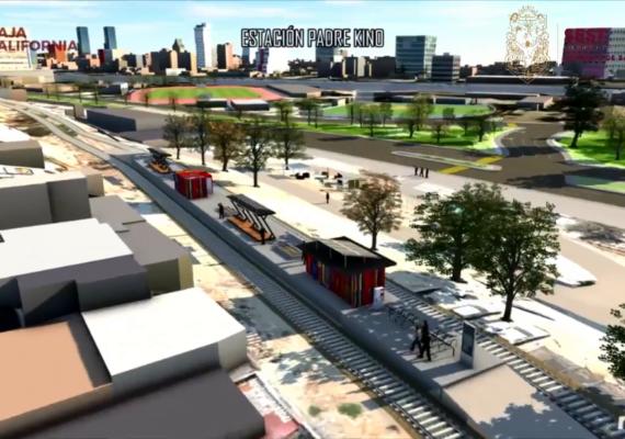 Tijuana tendrá tren de pasajeros en octubre de 2021, confirman