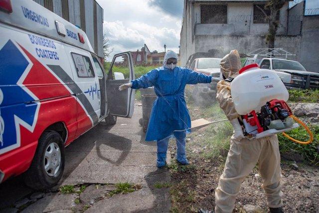 México contabiliza 5.351 nuevos contagios de coronavirus y 703 decesos en la última jornada