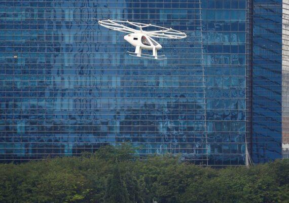 Reuters: General Motors explora oportunidades en el mercado de taxis voladores eléctricos