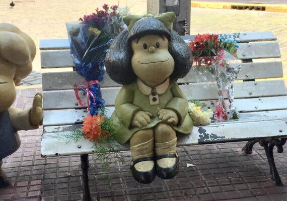 San Telmo, el barrio argentino que llora a Quino y consuela a Mafalda, su vecina más ilustre