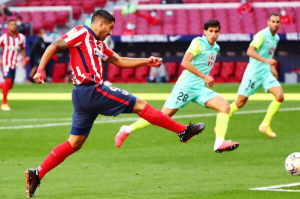 «Tengo sensación de felicidad»: Luis Suárez debuta con el Atlético con un doblete