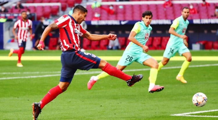"""""""Tengo sensación de felicidad"""": Luis Suárez debuta con el Atlético con un doblete"""