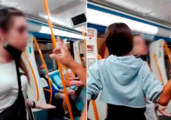 """Una de las menores que agredió a una pareja de latinoamericanos en el metro de Madrid: """"¿Racista? Mucho, muchísimo"""""""